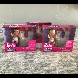 Barbie Baby Skipper Baby Bundle of 3 NWT